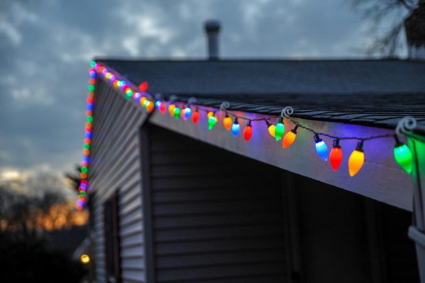 Hang Lights without damaging shingles
